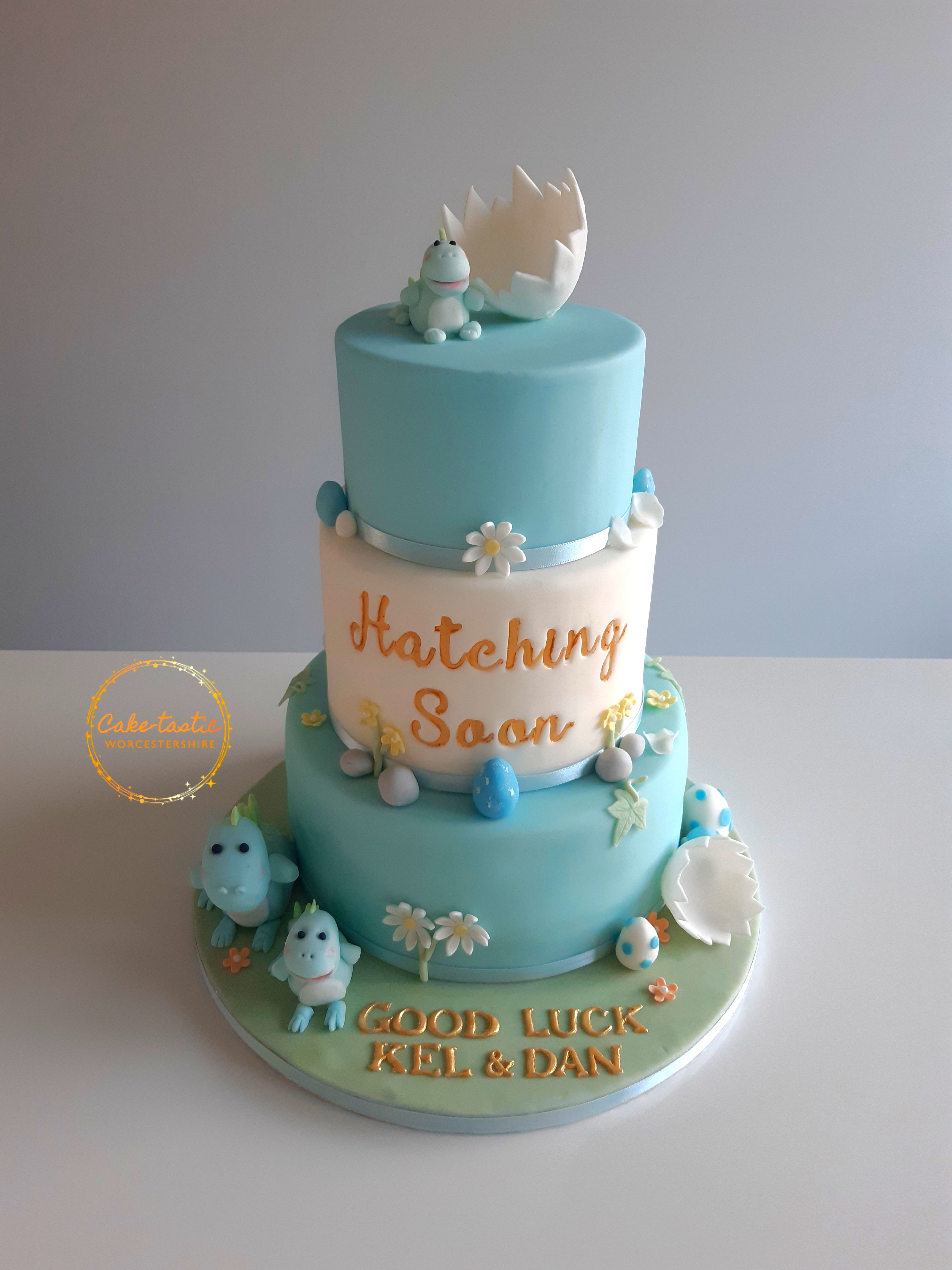 Baby Shower Cake - Hatching Soon