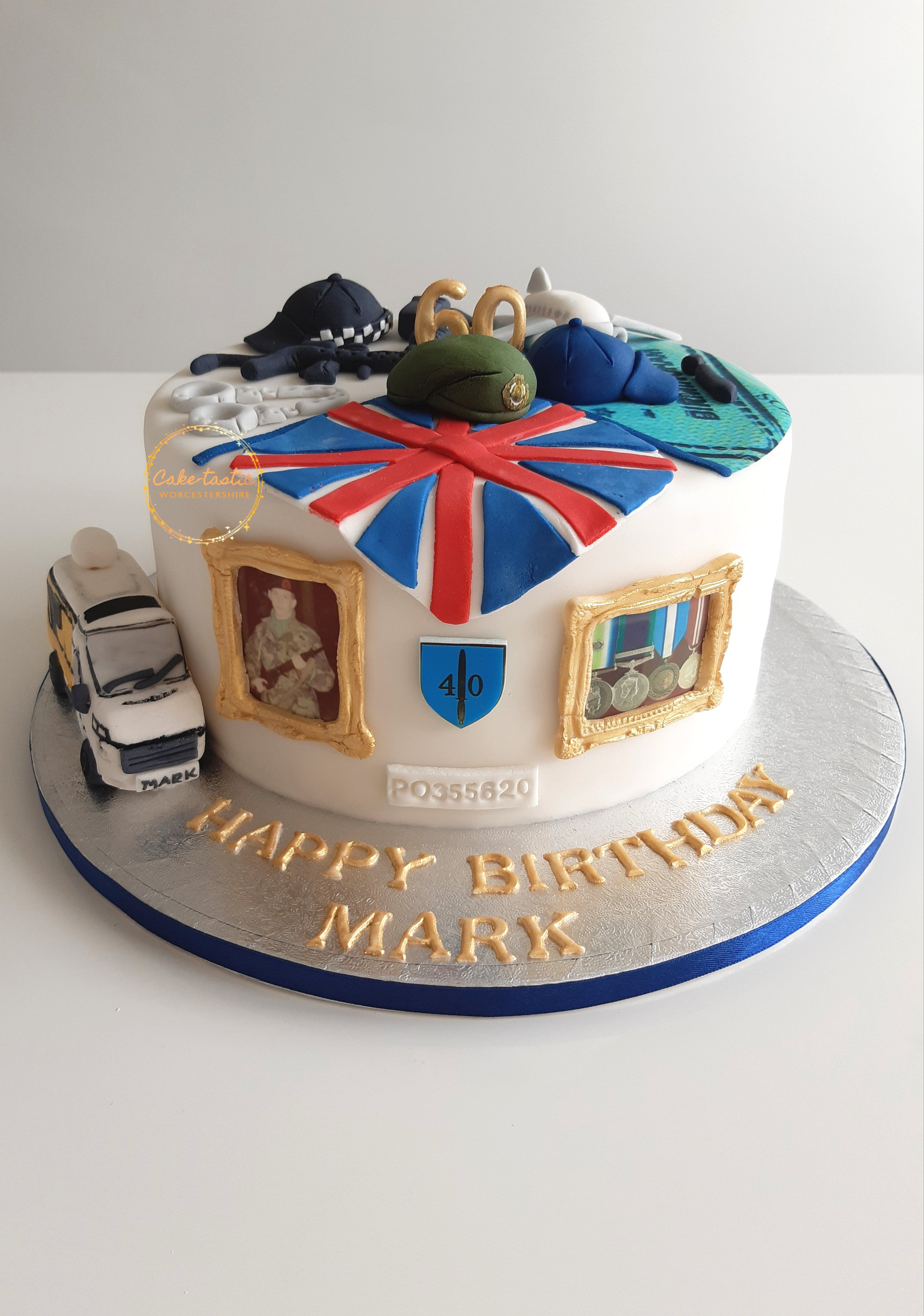60th Birthday Cake - My Life in Cake