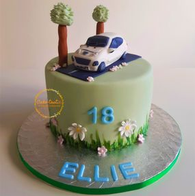 Countryside Drive Cake