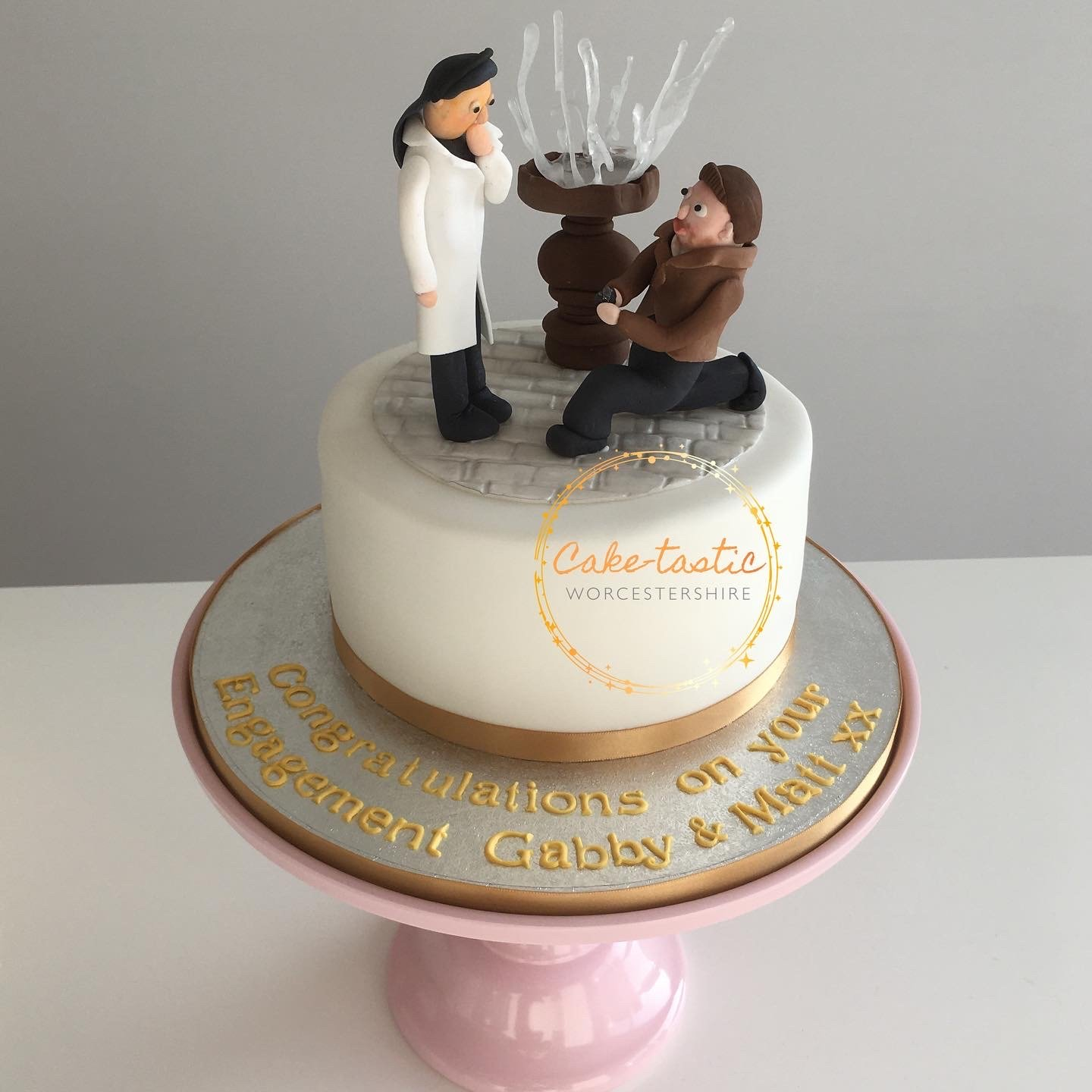 The Proposal - Engagement Cake
