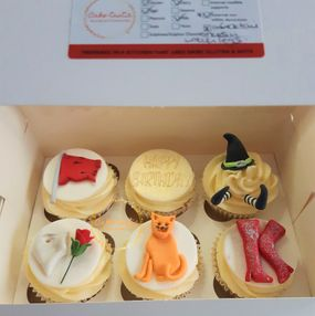 Musicals Themed Cupcakes
